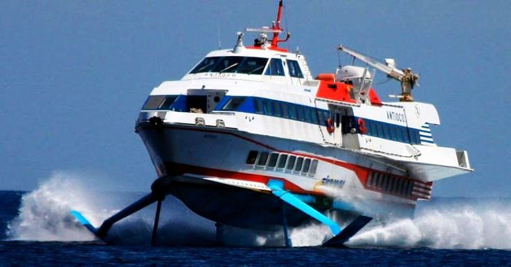 Advanced Hydrofoil Cruise Vessels Will Connect Kochi and Kozhikode Soon