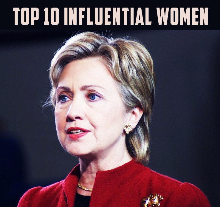 The Top 10 Influential Women in the World