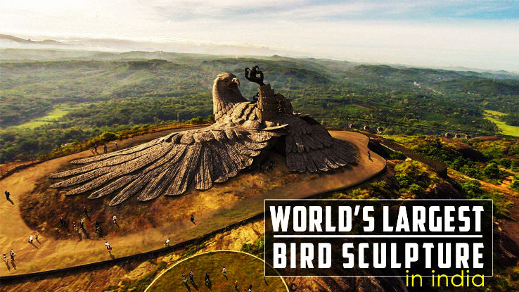 Worlds Biggest Bird Sculpture Housed at Jatayu National Park, Kerala Is Opening In Jan 2016