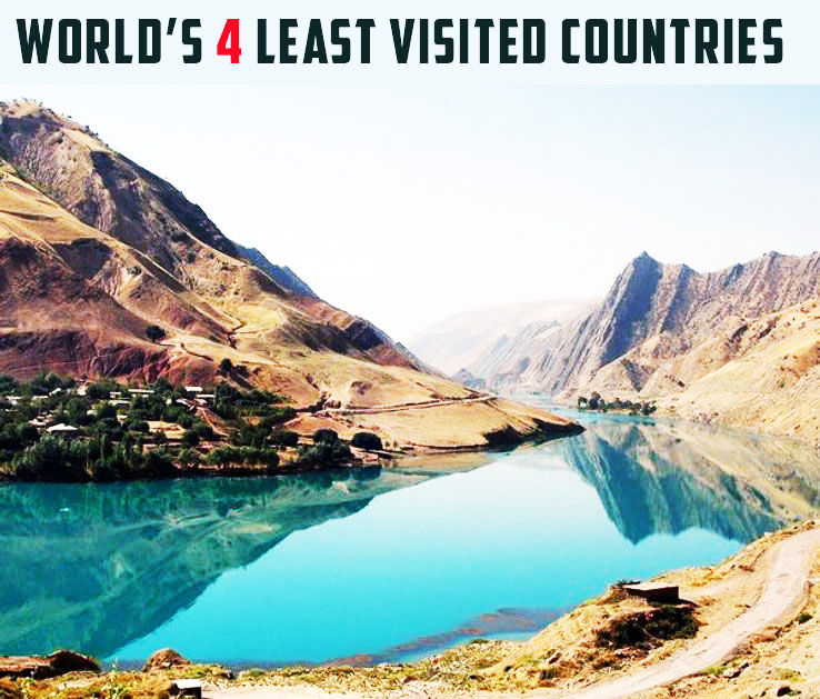 4 Least Visited Countries in the World