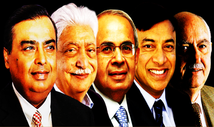 TOP 5 RICH PEOPLE OF INDIA