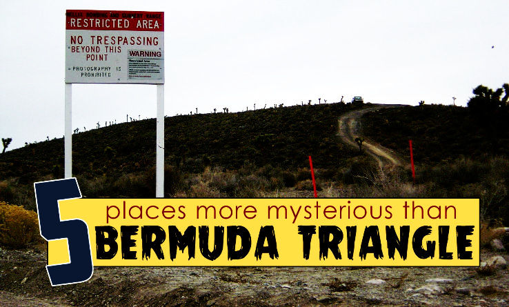 5 Places More Mysterious than Bermuda Triangle
