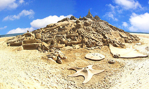 Best Sand Sculptures Around the Globe : Art Par Excellence