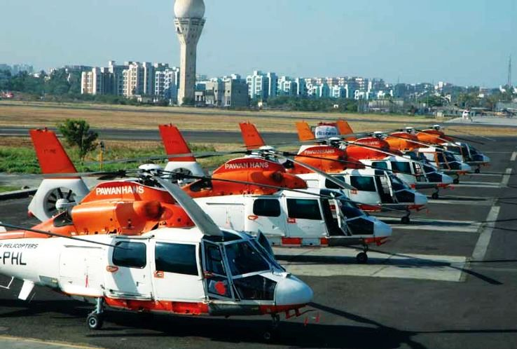 Helicopter Joyrides Services Started In Goa