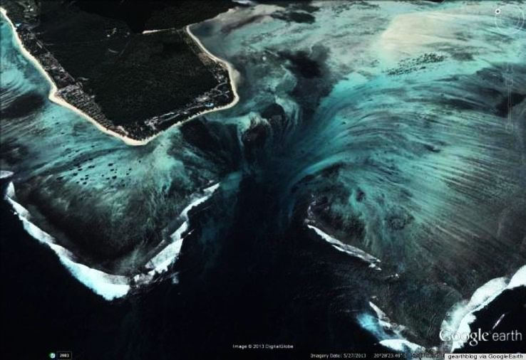 Underwater Waterfall  Mauritius - Unknown Mystery