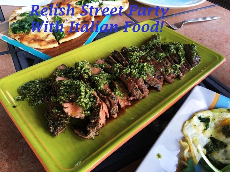 Relish Street Party With Italian Food!