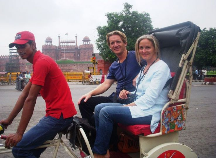 Rickshaw Tour Of Old Delhi