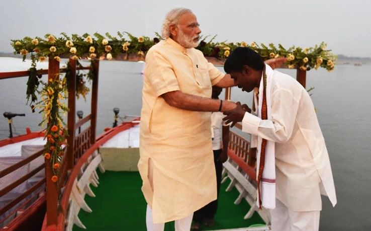 PM Modi Launched E-Boat In Varanasi