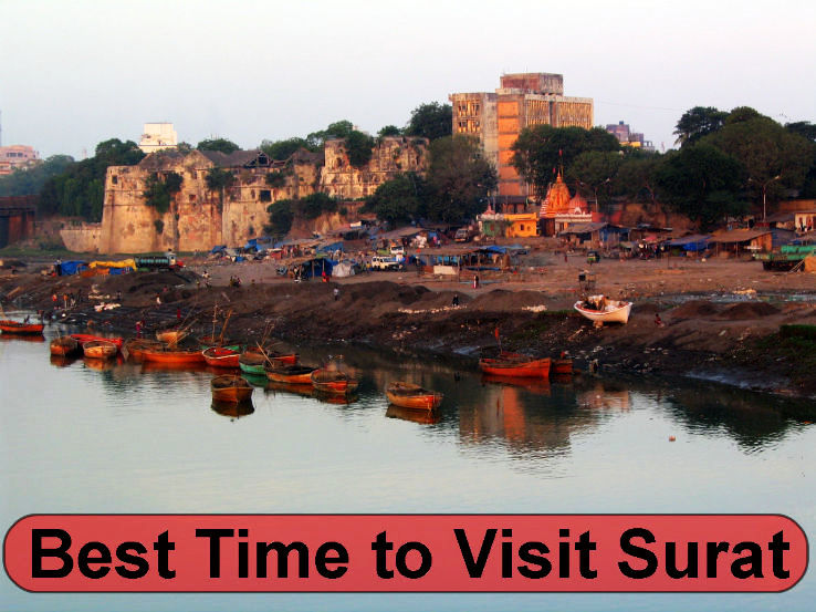 Best time to visit Surat