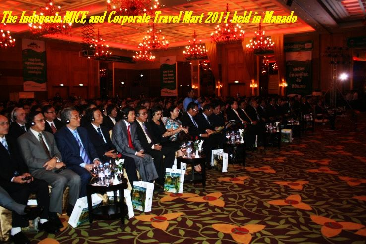 The Indonesia MICE and Corporate Travel Mart 2011 held in Manado