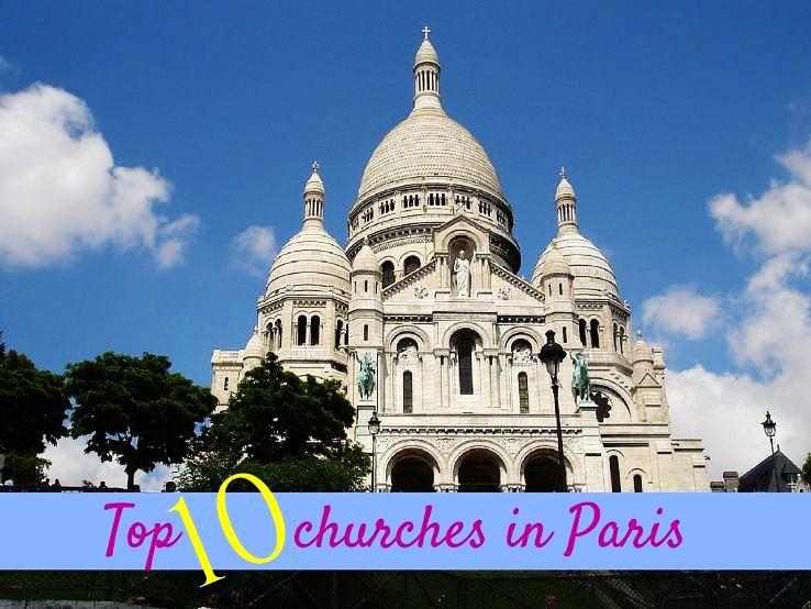 Top 10 churches in Paris