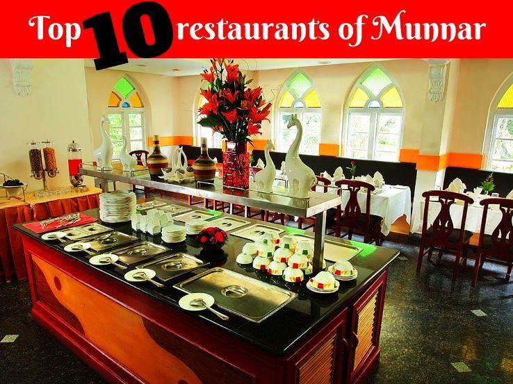 Top 10 restaurants of Munnar