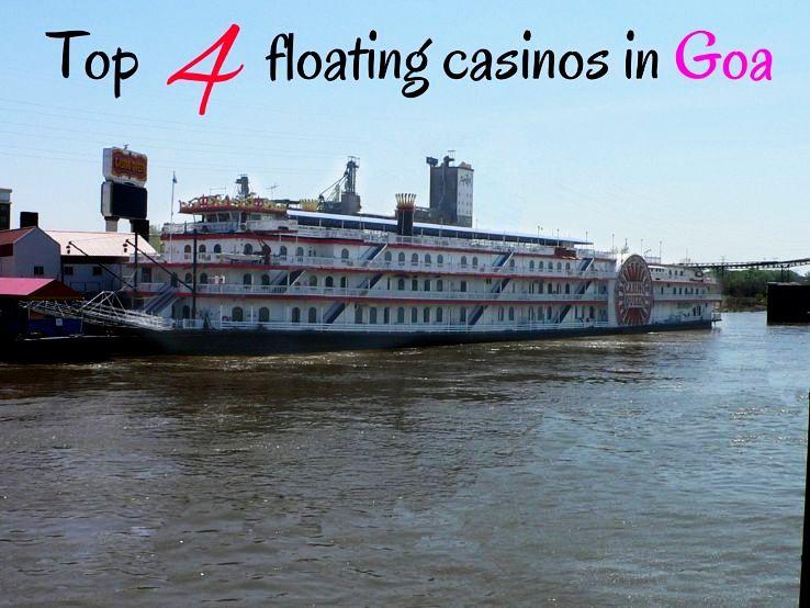 Top 4 floating casinos in Goa