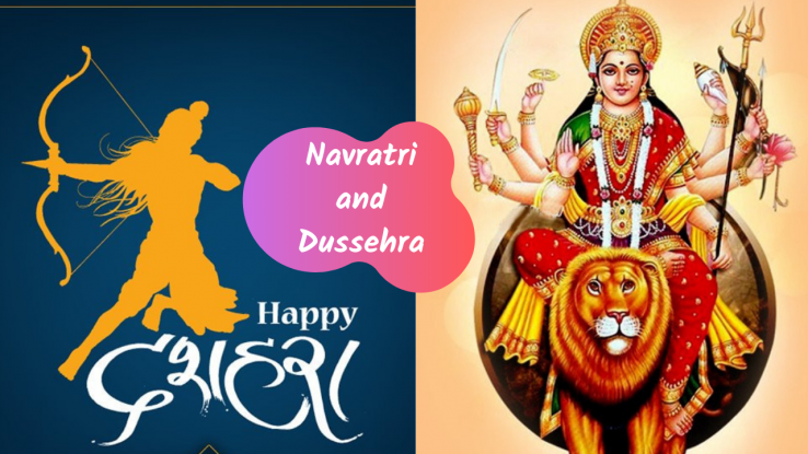 9 Places of interest for Celebrating a Happy Dusshera and 9 Colors of Navratri in India