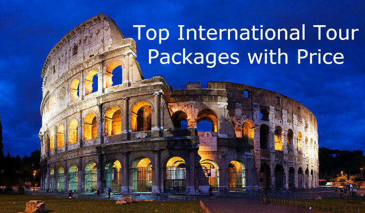 Top International Tour Packages with Price