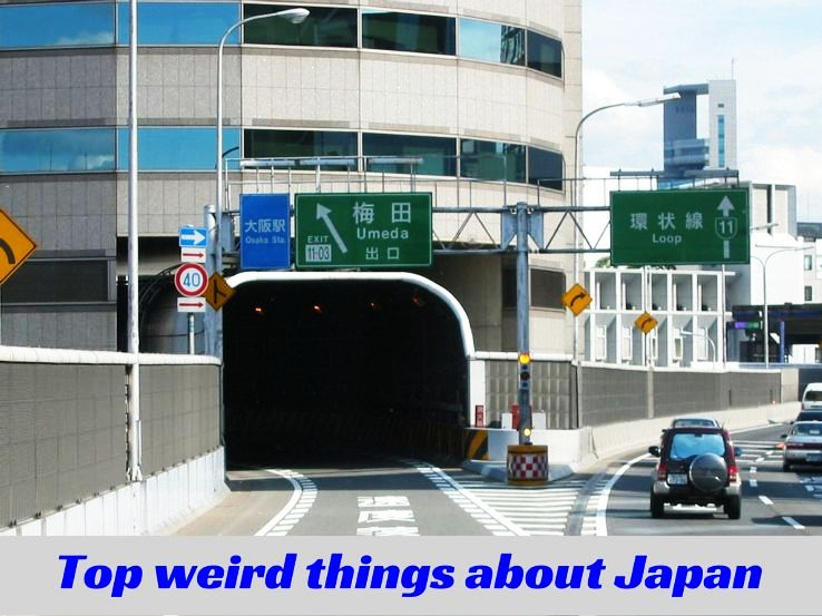 Top weird things about Japan