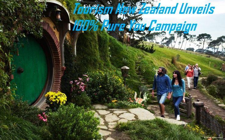 Tourism New Zealand Unveils 100% Pure You Campaign
