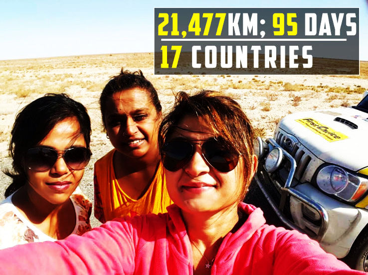 These Supermoms Broke All The Physical Barriers To Reach London From Delhi By Road