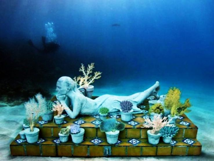 Worlds First Underwater Museum In Cancun Mexico Hello Travel Buzz
