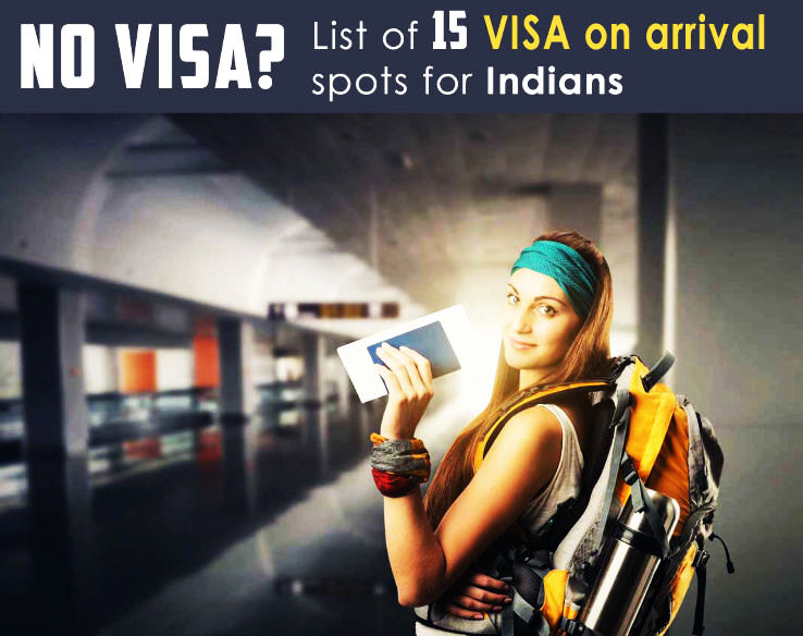 Top 15 : Visa on arrival Spots for Indians