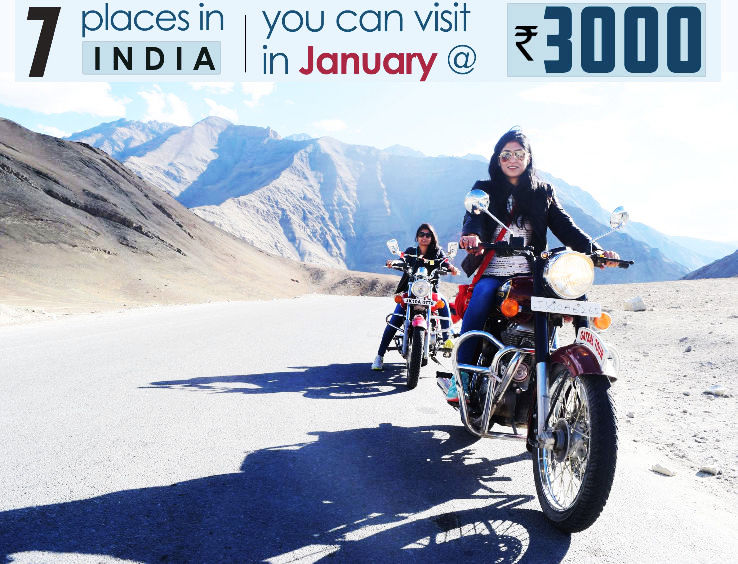 7 Places you can visit in India in January in as low as INR 3K