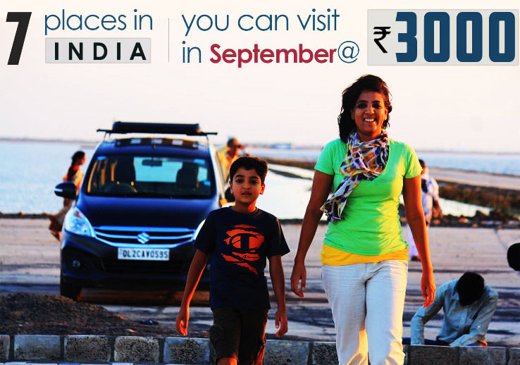 Top 7 Places to visit in September under 3k