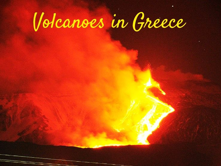 Volcanoes in Greece