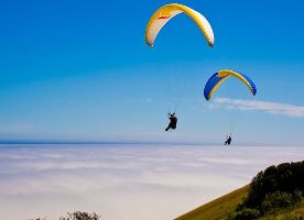 Paragliding And Trekking