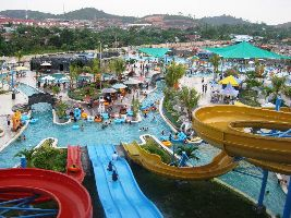 The Blue Whale Water Park