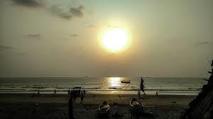 Sunset At Tarkarli Beach