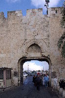 Dung Gate And The Jaffa Gate