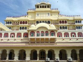 City Palace In Jaipur, Rajasthan