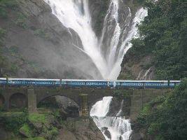 SOMESHWAR WATERFALLS / DUDHSAGAR FALLS