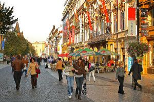 Wander Through The Jam-packed Shopping Streets Of Czech Republic