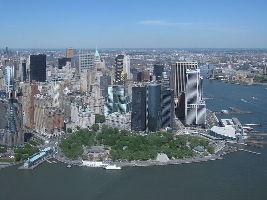 The Battery Park Manhattan