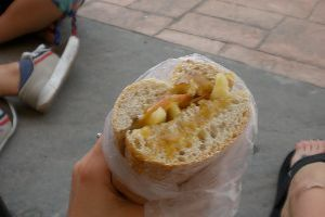 Munching On Your Very Own Sandwich Invention In Getafe, Spain