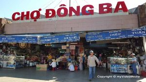 Shop At Dong Ba Market