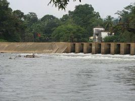 Netravati River barrage