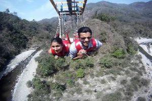 Flying Fox At Rishikesh