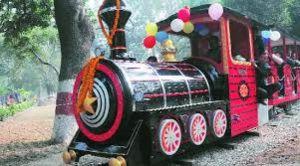 Joy Train At Rakh Bagh Park