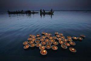 Prayer At Ganges Haridwar