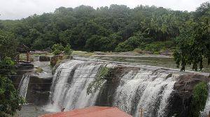 Thiruparrapu Falls Or Tirparappu Water Falls