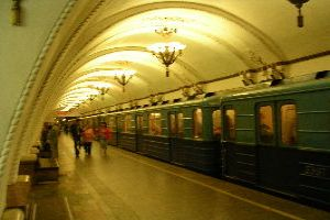 Ride In Moscow Metro
