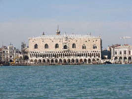 Palazzo Ducale -Doges Palace- And Bridge Of Sighs