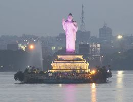 Buddha Statue Of Hyderabad