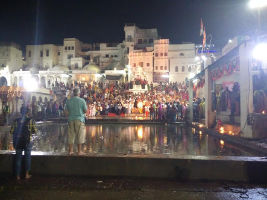 Attend The Evening Arti At Varah Ghat