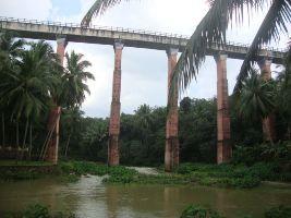 Mathoor Hanging Bridge