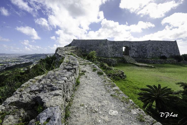 Katsuren Castle Ruins In Okinawa, Japan. Stock Image ... |Okinawa Japan Ruins