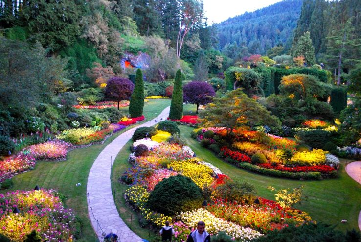 Butchart gardens 2019 1 top things to do in victoria - Best time to visit butchart gardens ...